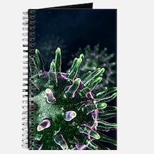 Virus particles, artwork Journal
