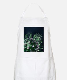 Virus particles, artwork Apron