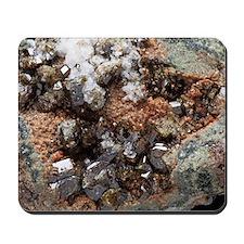 Vesuvianite mineral sample Mousepad