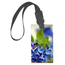 Virginia Bluebells (Mertensia vi Luggage Tag