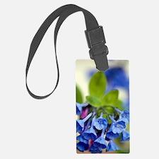 Virginia Bluebells (Mertensia vi Luggage Tag