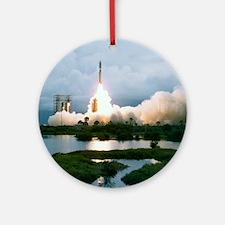 Viking 1 launch Round Ornament