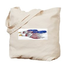 US Flag: American Eagles Tote Bag