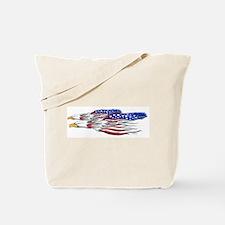 US Flag: American Eagles Tote Bag