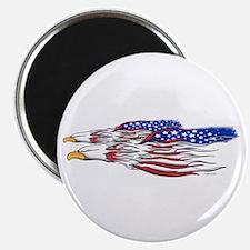 US Flag: American Eagles Magnet
