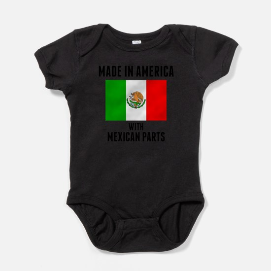 Made In America With Mexican Parts Body Suit