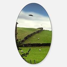 UFO sighting Sticker (Oval)
