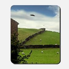 UFO sighting Mousepad