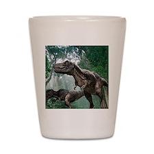 Tyrannosaurus rex dinosaurs Shot Glass