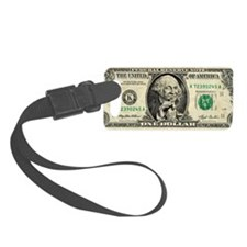 US dollar bill, George Washingto Luggage Tag