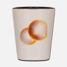 Oxygen molecule Shot Glass