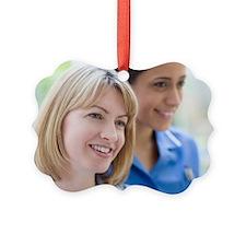 Nurses smiling Ornament