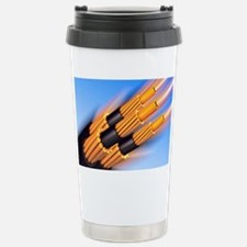 Optical fibre bundle for commun Travel Mug