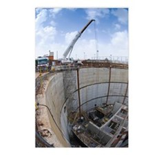 Tunnelling a sewerage pip Postcards (Package of 8)