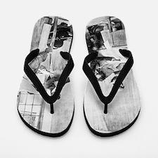 Tuberculosis diagnosis, 19th century Flip Flops