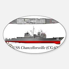 USS Chancellorsville CG-62 Decal