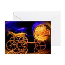 Trundholm Sun Chariot Greeting Card