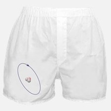 Tritium, atomic model Boxer Shorts