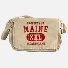 Maine, Vacationland Messenger Bag