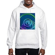 Neutrinos, conceptual artwork Hoodie