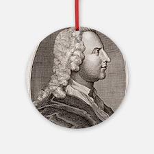 Thomas Wright, British astronomer Round Ornament