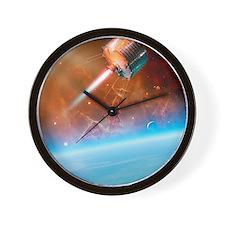 TIROS weather satellite, artwork Wall Clock
