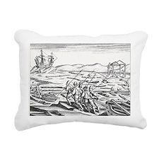 Third Barents Arctic Exp Rectangular Canvas Pillow
