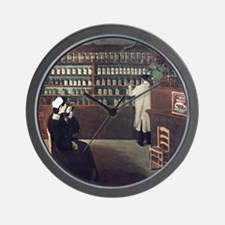 The Pharmacy, 1912 artwork Wall Clock
