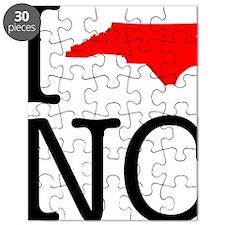 I Love NC North Carolina Puzzle