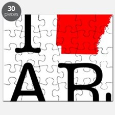 I Love AR Arkansas Puzzle