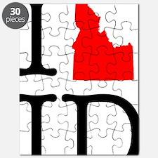 I Love ID Idaho Puzzle