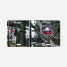 Thermal power station Aluminum License Plate