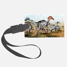 Therizinosaurus dinosuars Luggage Tag