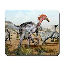 Therizinosaurus dinosuars Mousepad