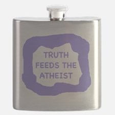 Truth feeds the atheist  Flask