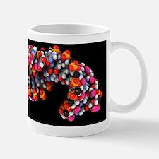 Telomerase molecule, artwork Mug