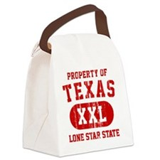 Property of TEXAS Canvas Lunch Bag