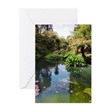 The Lost Gardens of Heligan, UK Greeting Card