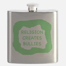 Religion creates bullies  Flask
