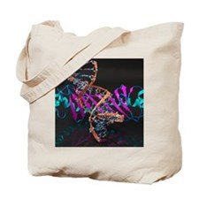 Tata binding protein with DNA Tote Bag