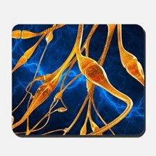 Nerve synapses, artwork Mousepad