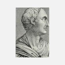 Tacitus, Roman senator and histor Rectangle Magnet