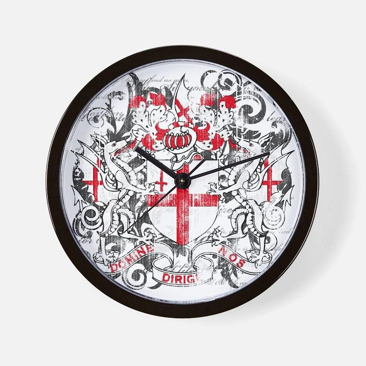 London Dark Wall Clock