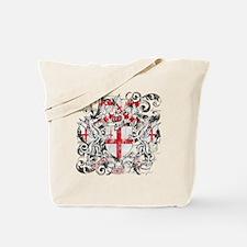 London Dark Tote Bag