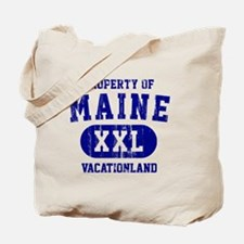 Maine, Vacationland Tote Bag
