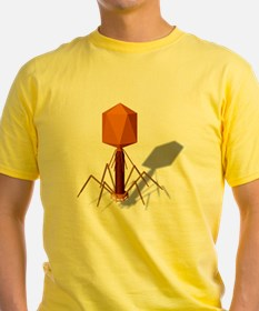 T4 bacteriophage, artwork T