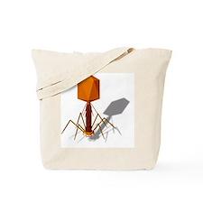 T4 bacteriophage, artwork Tote Bag