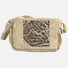 Nerve fibres, light micrograph Messenger Bag
