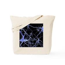 Neural network, computer artwork Tote Bag