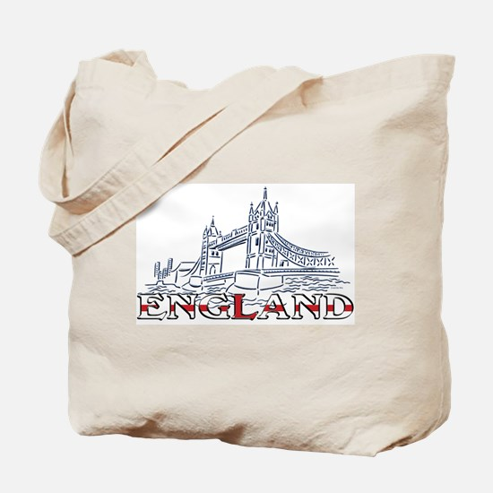 England: Tower Bridge Tote Bag